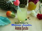 Ananas Şurubu (görsel)