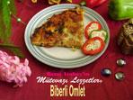 Biberli Omlet (görsel)
