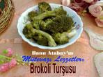 Brokoli Turşusu (görsel)