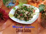 Çökelek Salatası (görsel)