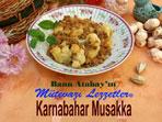 Karnabahar Musakka (g�rsel)