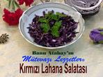Kırmızı Lahana Salatası (görsel)