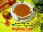 Kolay Domates Çorbası (görsel)