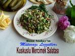 Kuskuslu Mercimek Salatas� (g�rsel)
