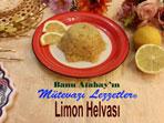 Limon Helvası (görsel)