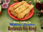 Maydanozlu Köy Böreği (görsel)