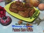 Patatesli Bal�k K�ftesi (g�rsel)