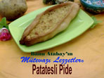 Patatesli Pide (görsel)