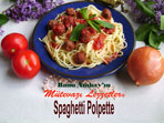 Spagetti Polpette (g�rsel)