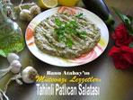 Tahinli Patl�can Salatas� (g�rsel)