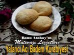 Yalanc� Ac� Badem Kurabiyesi (g�rsel)
