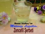 Zencefil Şerbeti (görsel)